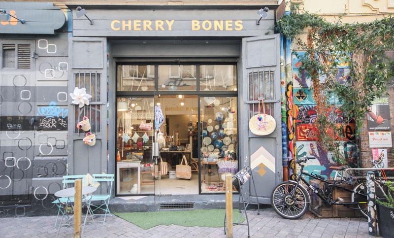 Boutique de créateur Marseille Cherry Bones