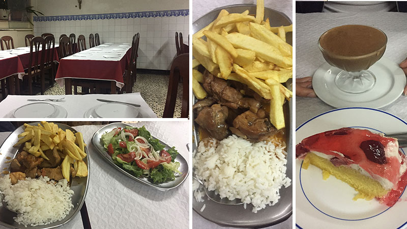 restaurant Alfredo da calçada Lisbonne