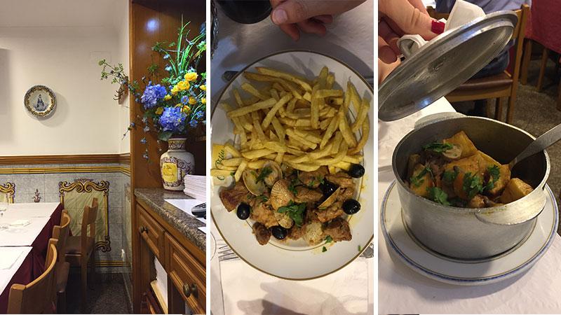 restaurant o piteu Lisbonne