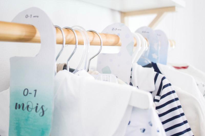 organisateurs penderie pour bebe
