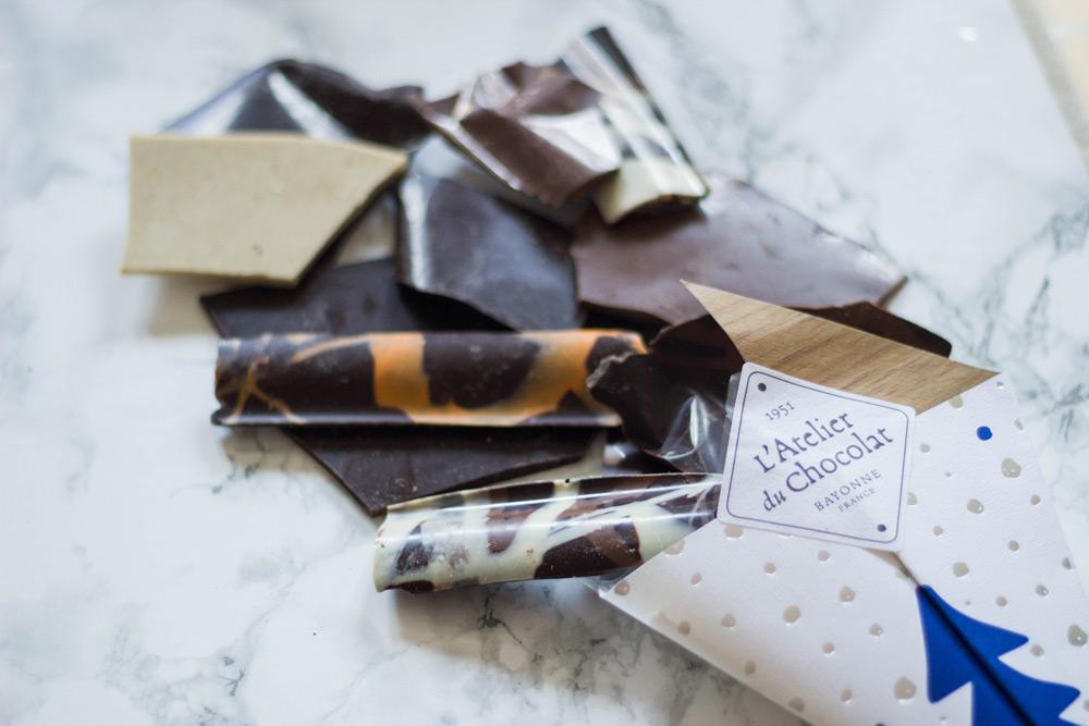 l'atelier du chocolat bouquet de chocolat