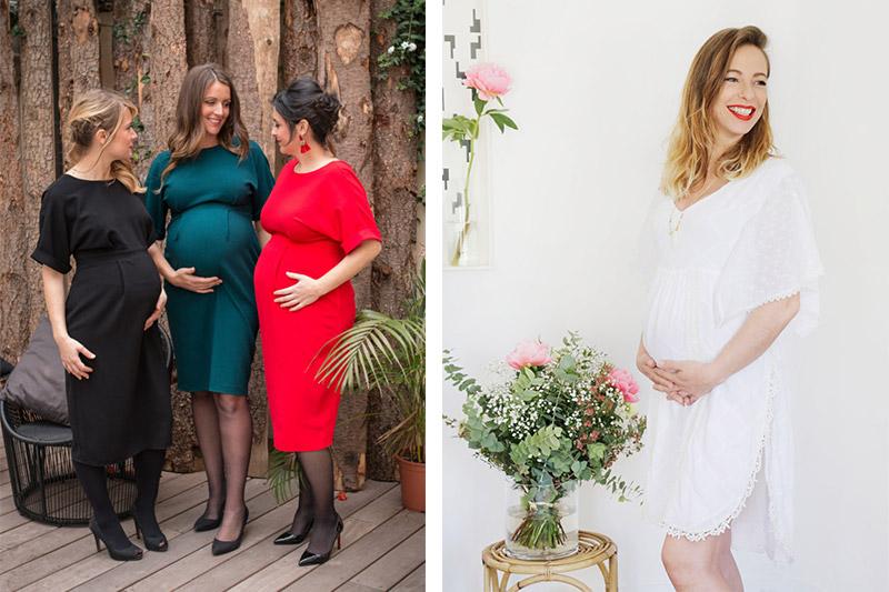 tenues de ceremonie de grossesse