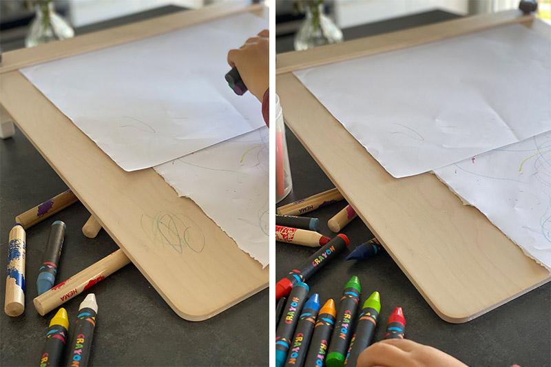 test-crayon-cire-chevalet-wesco